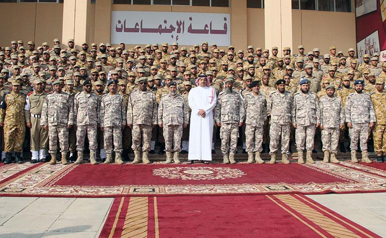 Qatari Armed Forces Graduates 7th Batch of National Service