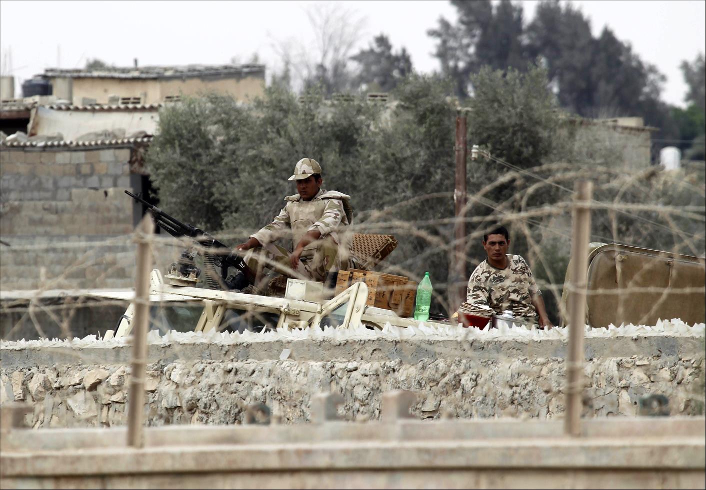 Egypt- 12 killed in air force raid against militants in North Sinai: military spokesperson