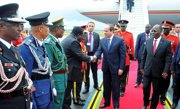 Egypt- Al-Sisi visits 4 African nations, water issue a priority