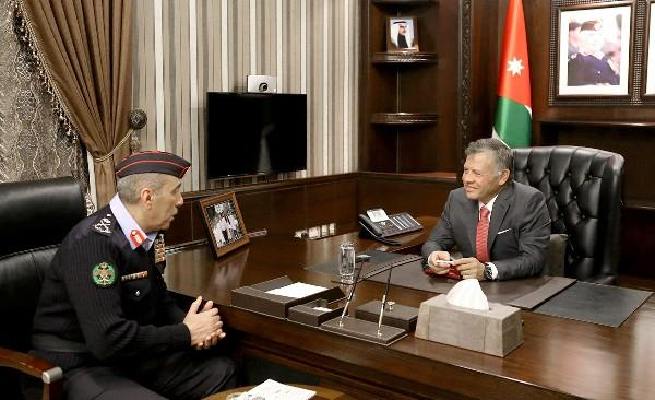Jordan- King visits Public Security Department | MENAFN COM