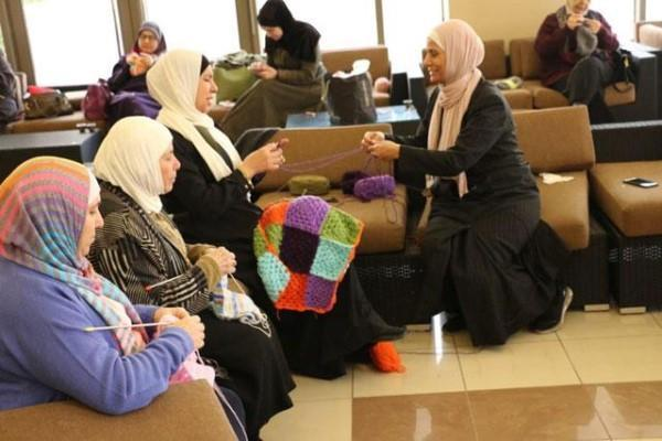 0be30b0103b4 Jordan-  Knitting winter clothes for the needy is so much more powerful than  donations