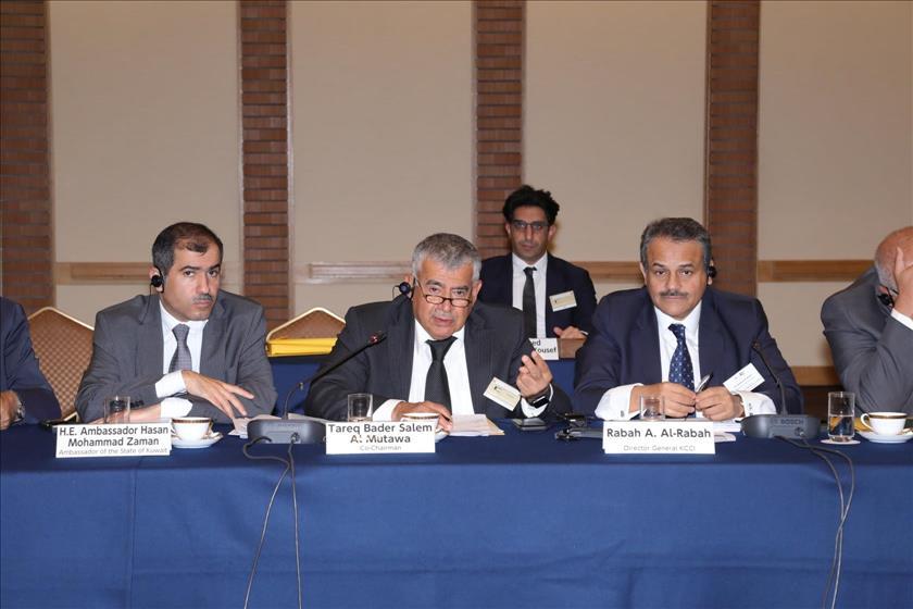 Kuwaiti-Japanese businessmen discuss investment, joint