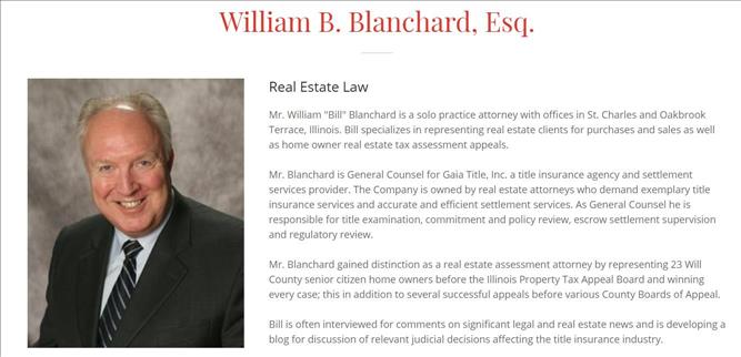 Continuing series of published articles, real estate lawyer William