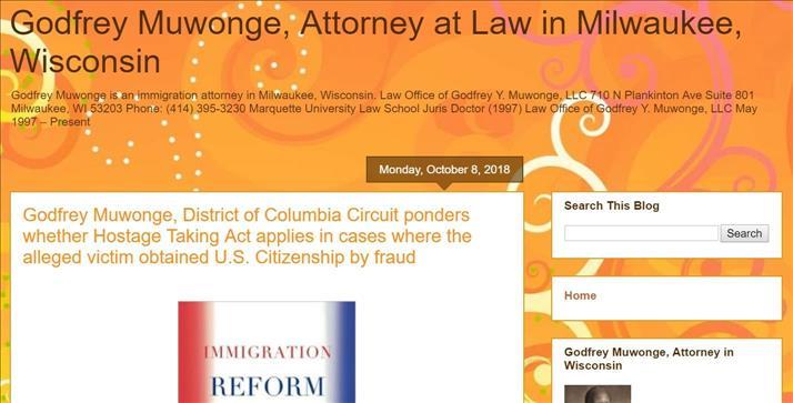 To clarify process, immigration attorney Godfrey Y  Muwonge