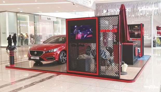 Qatar Auto Class Cars Displays Latest Mg  Model At Dhfc