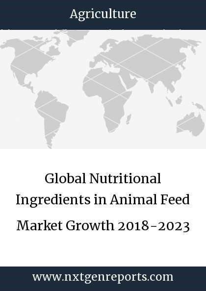 Global Nutritional Ingredients in Animal Feed Market Growth