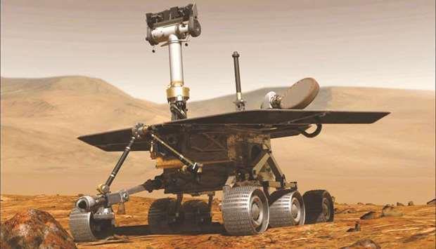 Qatar- Nasa Opportunity Mars mission is over   MENAFN COM