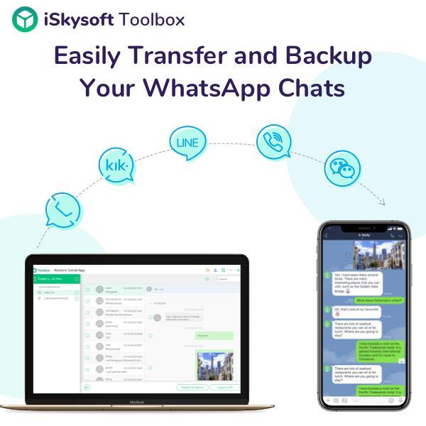 Product Release: iSkysoft Toolbox Restore Social App Now