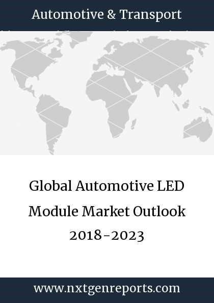 Global Automotive LED Module Market Outlook 2018-2023   MENAFN COM