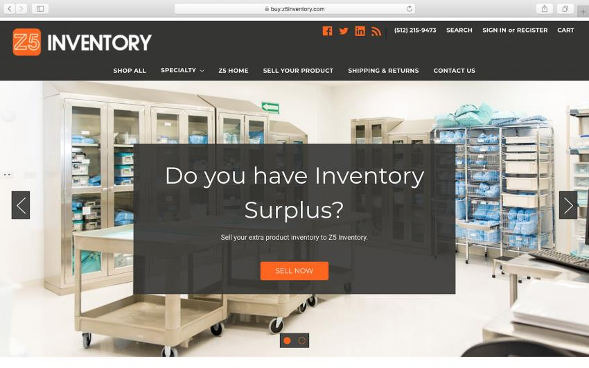 1ebb4ace02b Z5 Inventory Unveils Online Medical Supplies Store | MENAFN.COM