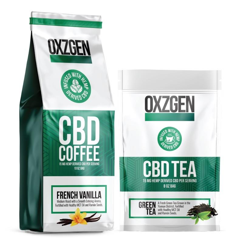 OXZGEN to Launch Line of CBD Coffee & CBD Tea | MENAFN COM
