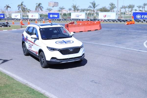Geyushi Motors Test Drives Faw X For First Time In Egypt