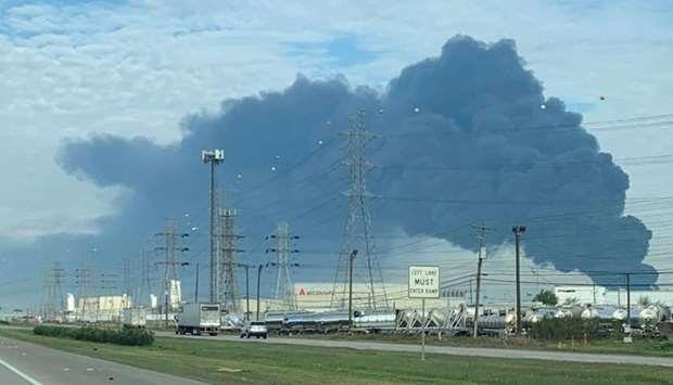 Qatar- US chemical plant fire is extinguished, company says   MENAFN COM