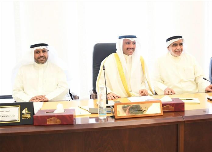 Kuwait- Speaker Al-Ghanim receives heads, representatives of
