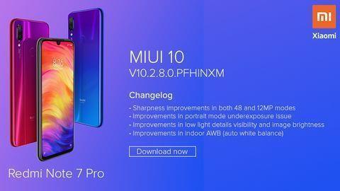 Redmi Note 7 Pro gets MIUI 10 Global ROM update | MENAFN COM