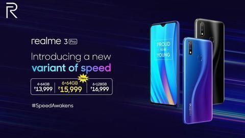 Realme 3 Pro 6GB/64GB variant launched for Rs  16,000 | MENAFN COM