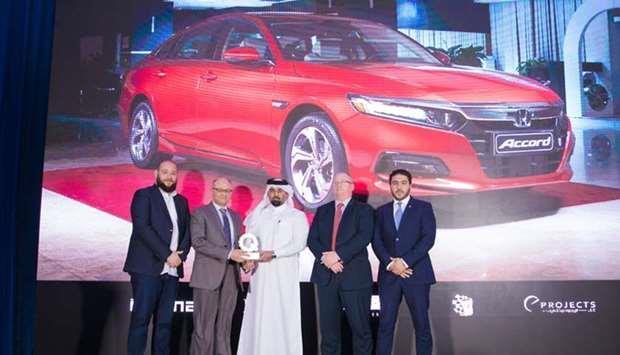 Honda Accord and HR-V win big at 2019 Qatar Car of the Year