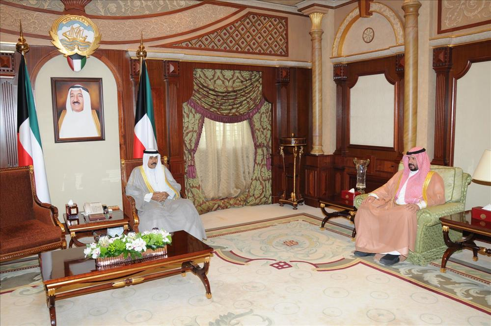 Kuwait- His Highness Crown Prince receives Capital Gov