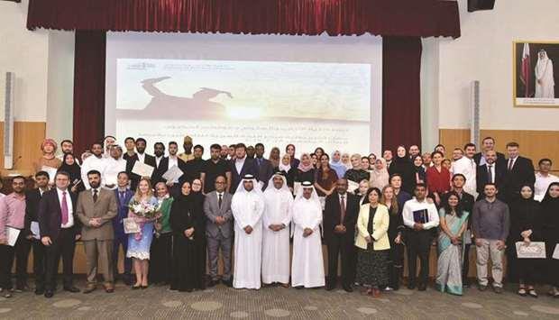 60 Non Traditional Wedding Vows: Qatar- QU Celebrates Graduation Ceremony Of 60 Students