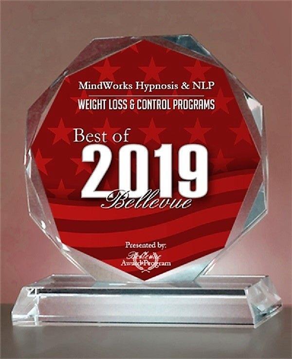Mindworks Hypnosis & NLP Receives 2019 Best of Bellevue