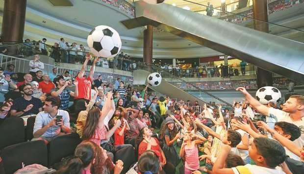 Qatar- Lagoona Mall to screen action from Copa America, Africa Cup