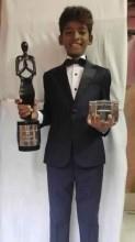 Mumbai Slum Kid Sunny Pawar wins 3 back to back 'Best Child