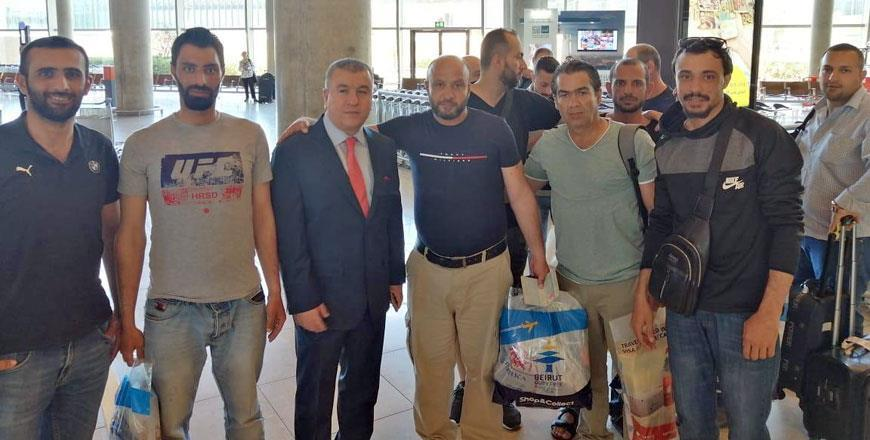 Second batch of Jordanian engineers arrive in Amman after Tengiz