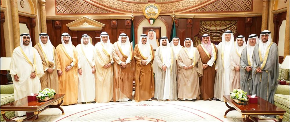 Kuwait- His Highness the Crown Prince's receptions | MENAFN COM