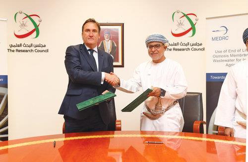 Oman- MEDRC-TRC pact to facilitate sustainable desalination | MENAFN COM