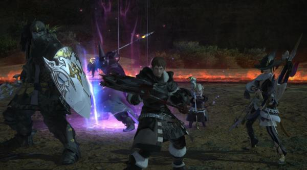 Fight As a Warrior Of Darkness Of Final Fantasy Xiv