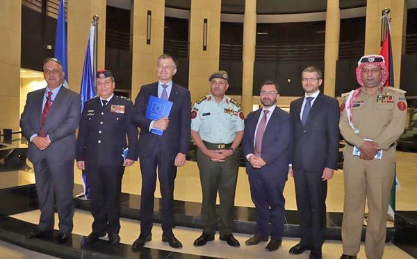 Jordan- JAF logistical hub project launched at eastern border