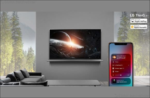 UAE- Lg Rolls Out Apple Airplay 2 on 2019 Thinq Ai Tvs