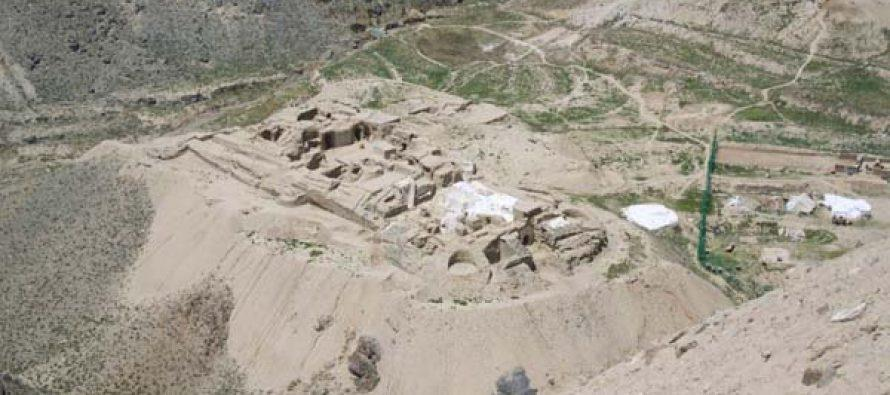 Afghanistan- Pieces Of Buddhist Manuscript Discovered in Mes Aynak
