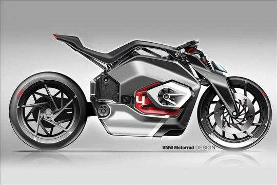 Egypt- BMW's DC Roadster introduces new electric motorcycle concept