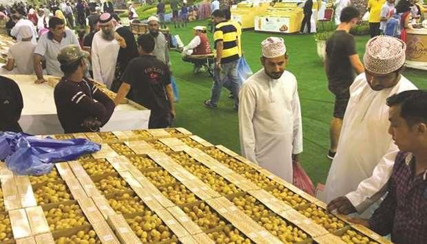 Qatar- Today is the last day of Local Dates Festival at Souq Waqif