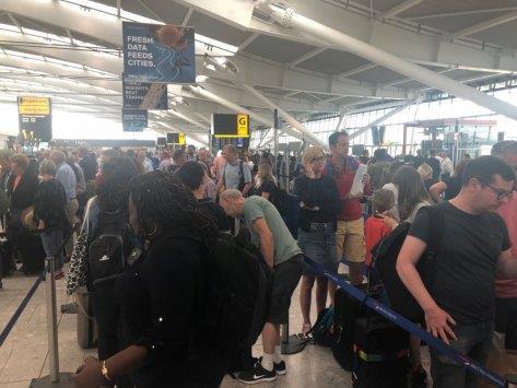 Flights canceled as British Airways hit by computer problem | MENAFN COM