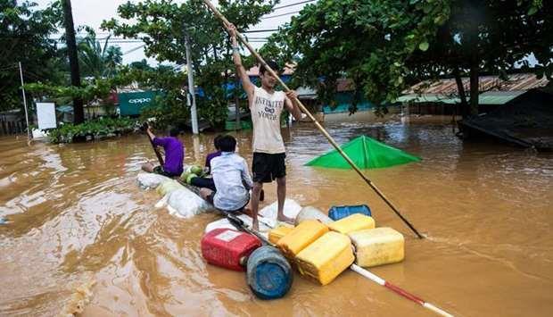 Qatar- At least 53 dead in southern Myanmar landslide | MENAFN COM