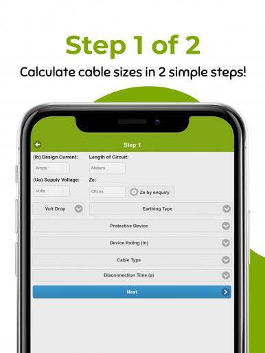 Cable Current Carrying Capacity Calculator - Cable Calc App