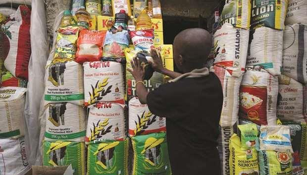 Qatar- Nigeria's surging food prices may rise faster on