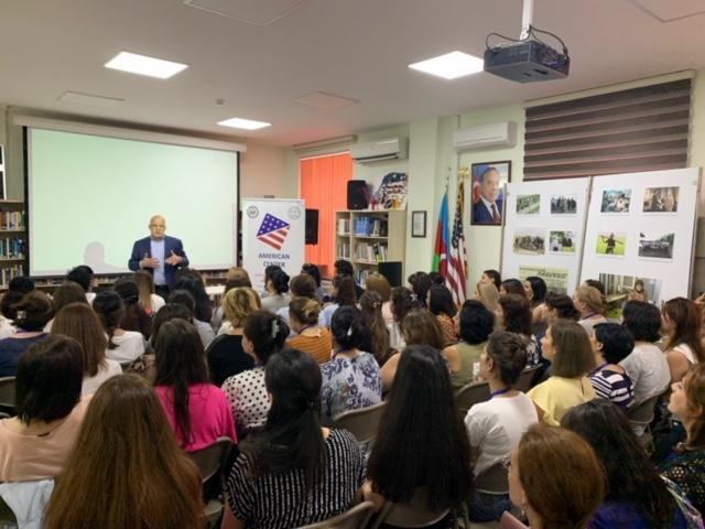 US Embassy, Baku American Center launch English Language
