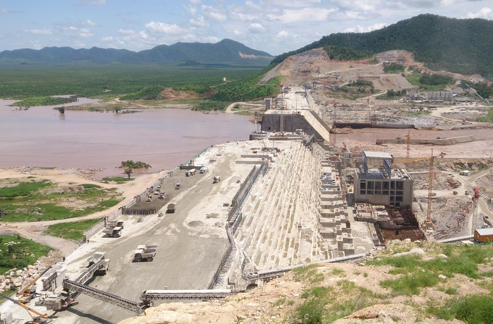 Egypt- Construction of GERD's saddle dam completed