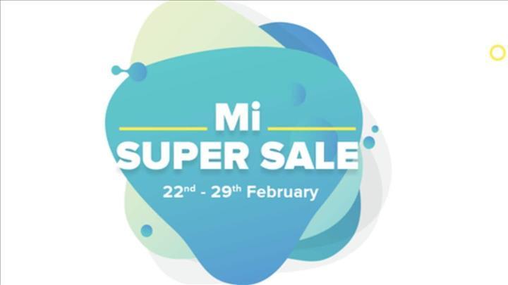India- Mi Super Sale: Deals and discounts on Xiaomi handsets - MENAFN.COM
