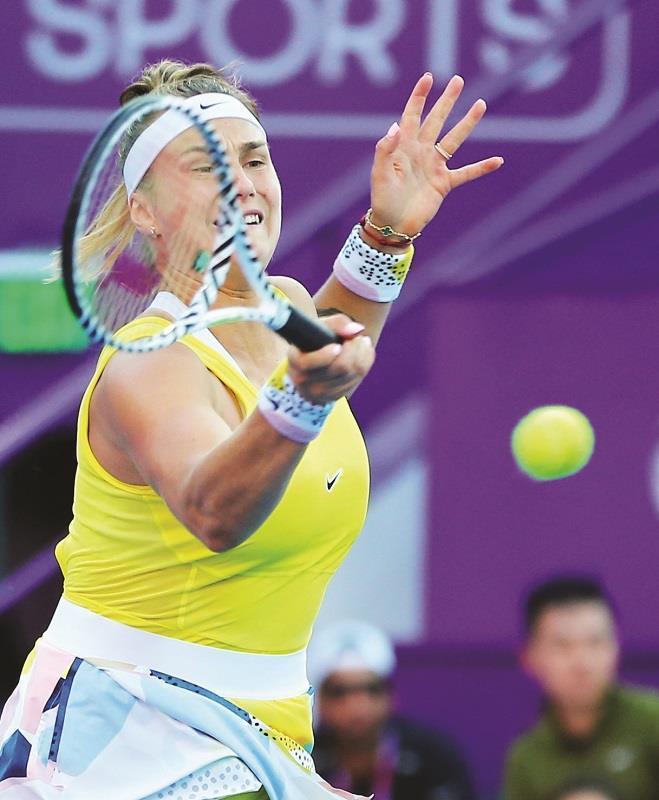 Muguruza sets up QF against Barty in Doha; Pliskova loses