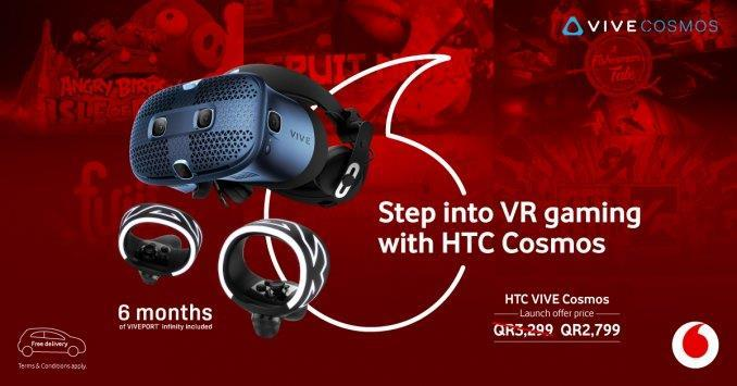 Qatar Vodafone launches new HTC Vive Cosmos   MENAFN.COM