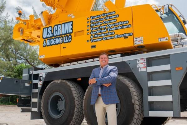 How Business Magnate Thomas Auringer is Building America One Crane at a  Time | MENAFN.COM
