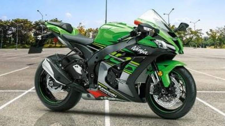 India 2021 Kawasaki Ninja Zx 10r S Live Images Leaked Design Details Revealed Menafn Com