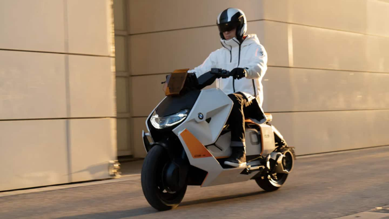 BMW Motorrad Definition CE 04 concept electric scooter revealed   MENAFN.COM