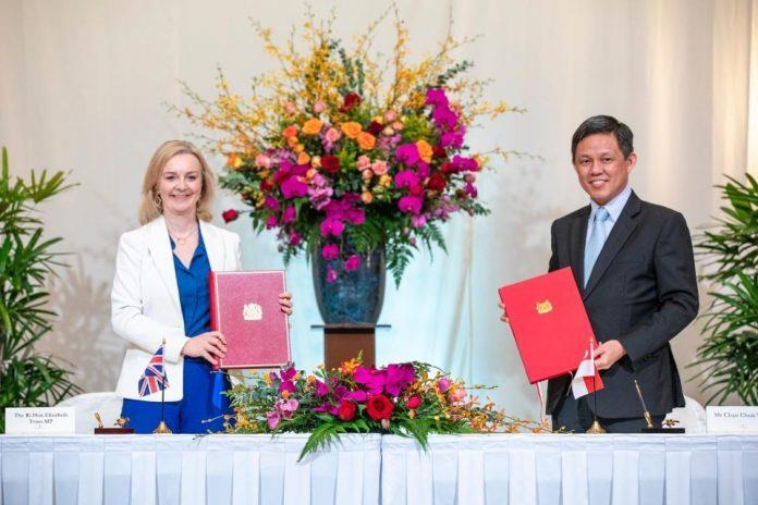 Britain signs free trade deal with Singapore