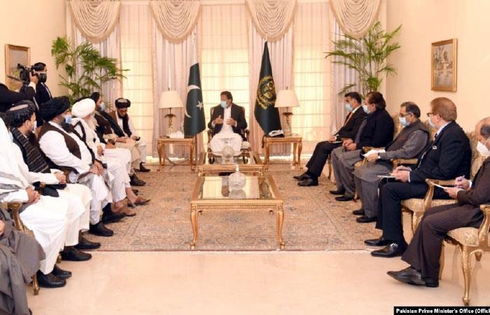 Afghanistan- Pakistan Prime Minister Imran Khan Meets Taliban in Islamabad  | MENAFN.COM