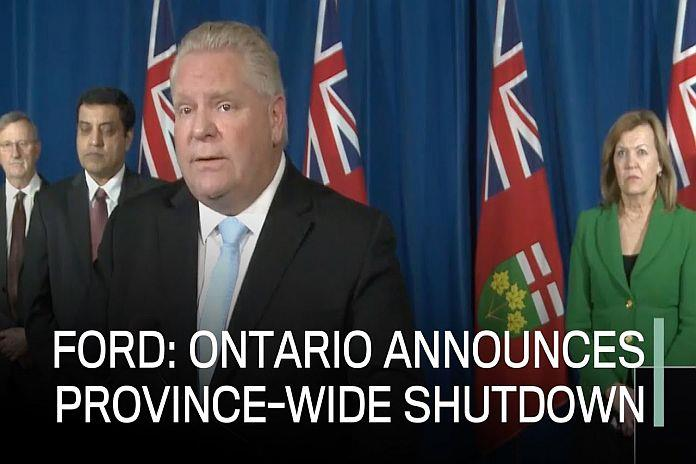 New Ontario Small Business Support Grant introduced for shutdown